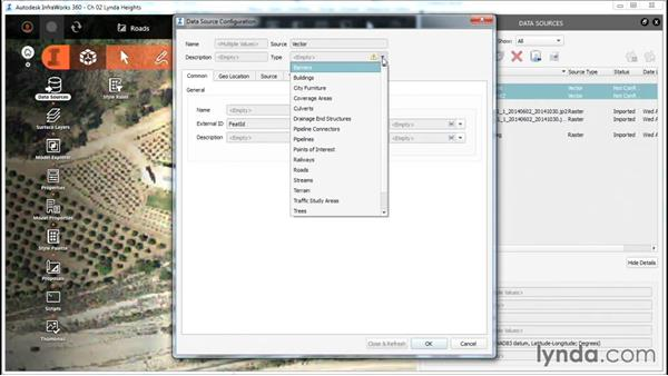 Import vector data: InfraWorks Essential Training