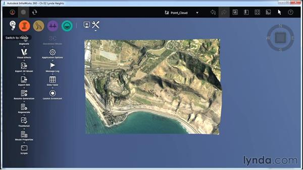 Updating the model thumbnail: InfraWorks Essential Training