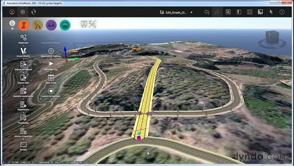 Working with Edit mode: InfraWorks Essential Training