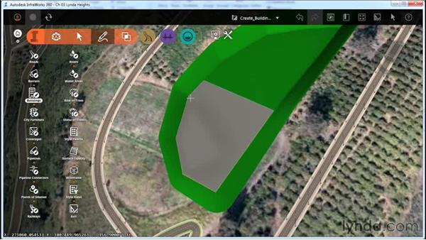 Creating buildings: InfraWorks Essential Training