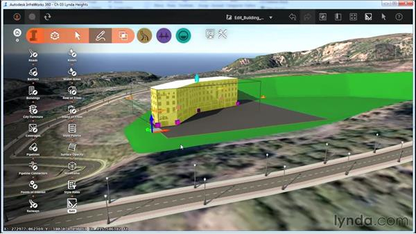 Editing buildings: InfraWorks Essential Training
