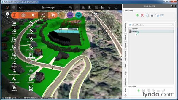 Creating a road style: InfraWorks Essential Training