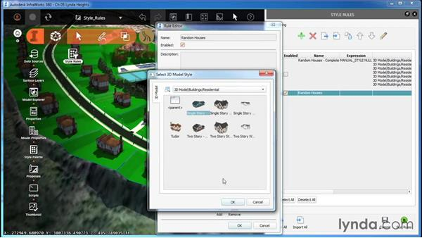 Working with Style Rules: InfraWorks Essential Training