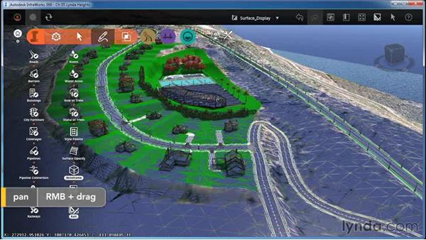 Working with Surface Display (Opacity and Wireframe): InfraWorks Essential Training