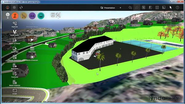 Working with Model Generation settings: InfraWorks Essential Training