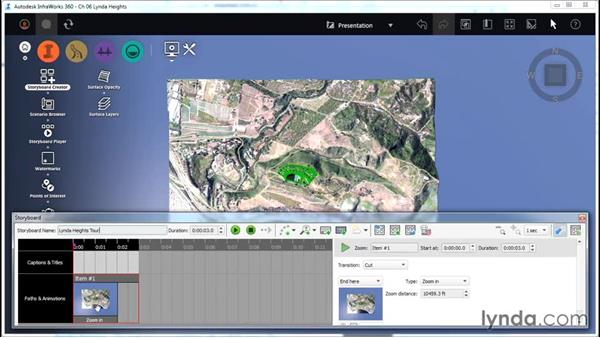 Creating a storyboard: InfraWorks Essential Training