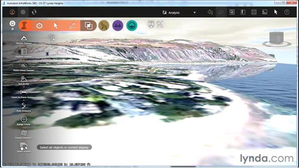 Analyzing visibility: InfraWorks Essential Training