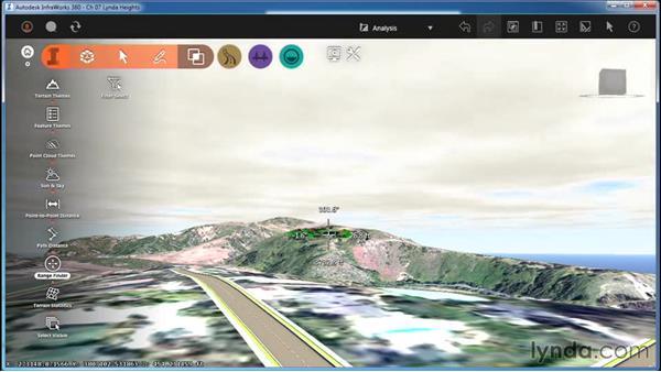 Using Range Finder: InfraWorks Essential Training