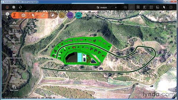 Using Terrain Statistics: InfraWorks Essential Training