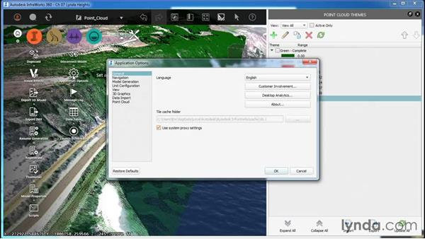 Working with Point Cloud Themes: InfraWorks Essential Training