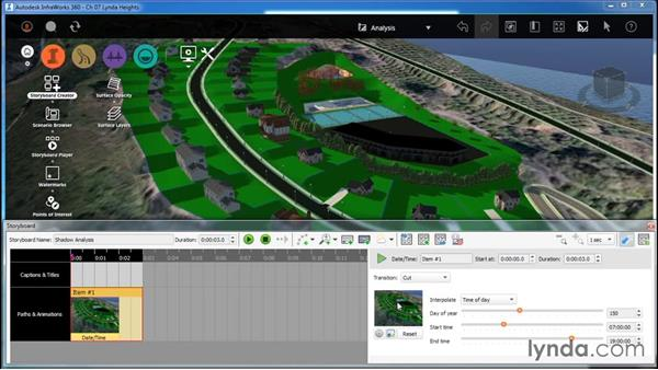 Using a storyboard for analysis: InfraWorks Essential Training