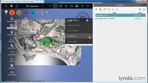 Creating a scenario: InfraWorks Essential Training
