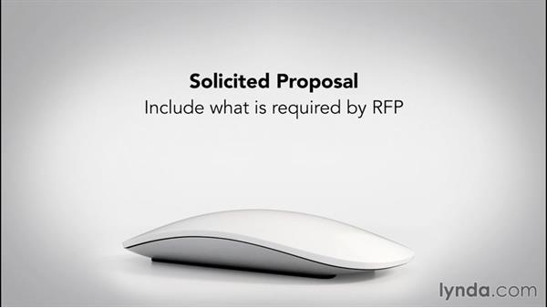 An overview of proposal writing: Writing Proposals