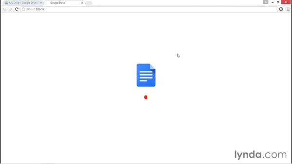 Converting files to Google Doc format: Google Drive Essential Training