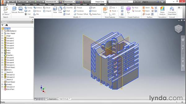 Using the browser: Inventor 2016 Essential Training