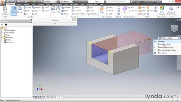 Introducing sketching: Inventor 2016 Essential Training
