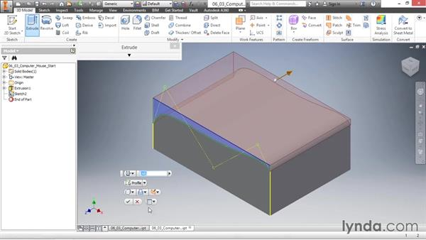Creating splines: Inventor 2016 Essential Training