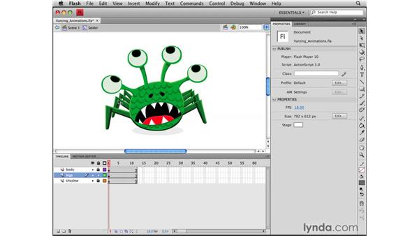 : Flash CS4 Professional Tools for Character Animation