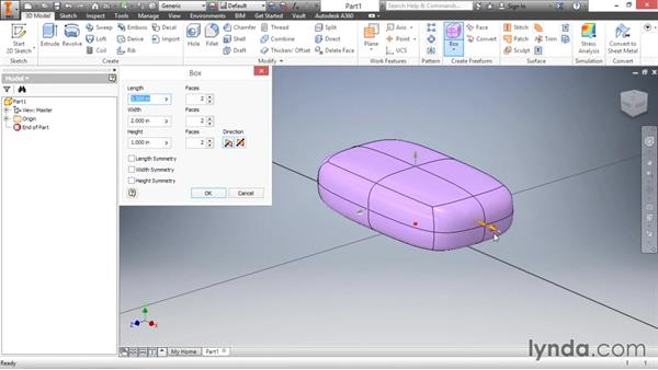 Creating a base form: Inventor 2016 Essential Training