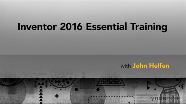 Next steps: Inventor 2016 Essential Training