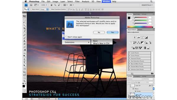 What's new in the Photoshop CS4 menus: Photoshop CS4 for Photographers