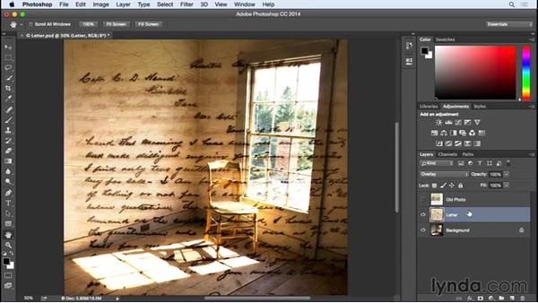 Creating a simple blend-mode composite: Photographing for Compositing in Photoshop