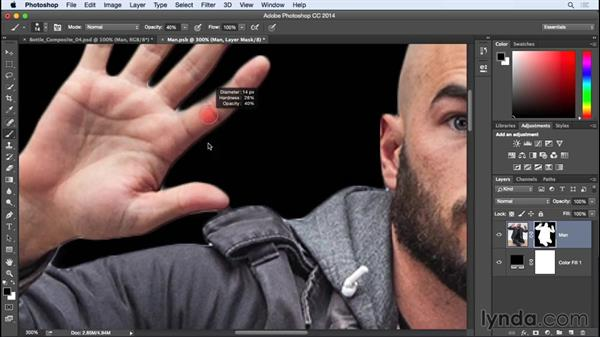 Finishing touches: Photographing for Compositing in Photoshop