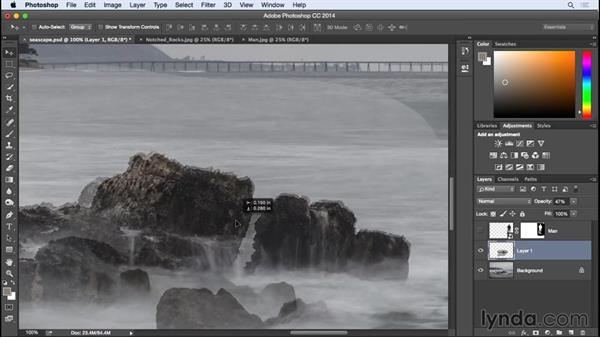 Combining two seascape images: Photographing for Compositing in Photoshop