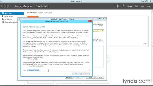 Installation prerequisites: SQL Server 2014 Essential Training