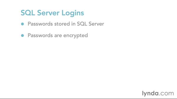 Overview of authentication in SQL Server: SQL Server 2014 Essential Training