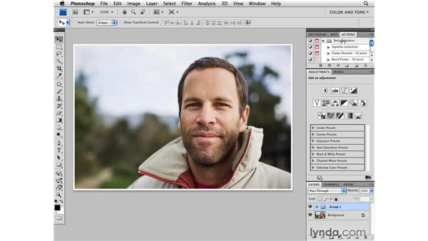 Customizing your workspace: Photoshop CS4 for Photographers