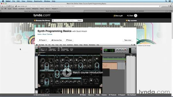 What you should know before watching this course: Digital Synthesis with MASSIVE