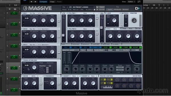Modulation oscillator, part one: Ring mod: Digital Synthesis with MASSIVE
