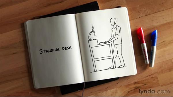 Choosing a desk and understanding walkways and movement flow: Organizing Your Office for Maximum Efficiency