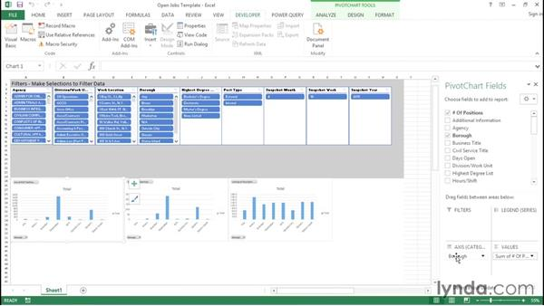 Recording a macro: Creating Interactive Dashboards in Excel 2013