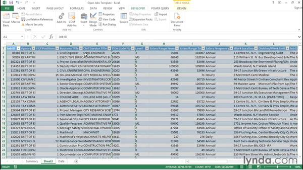 Debugging the template: Creating Interactive Dashboards in Excel 2013