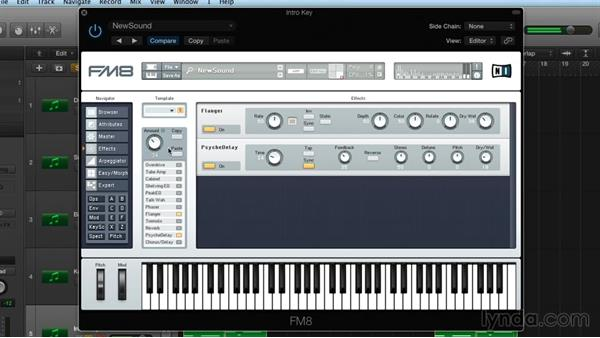 Morphing: Frequency Modulation with FM8