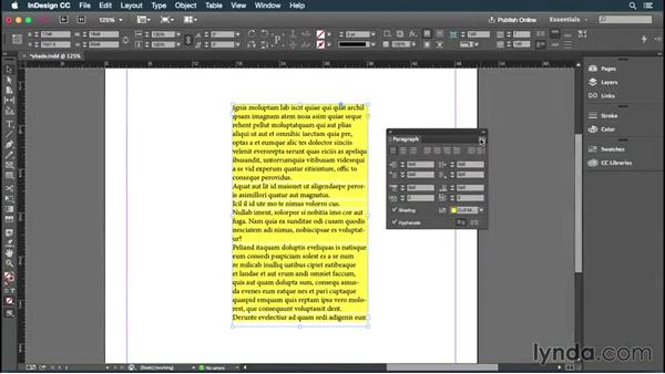 Welcome: InDesign: 2015 Creative Cloud Updates