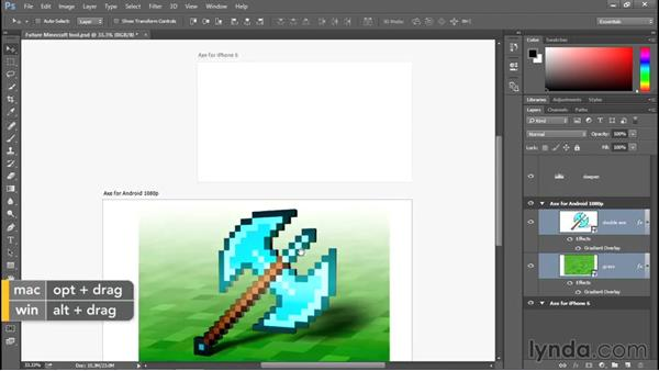 Creating and using artboards: Photoshop: 2015 Creative Cloud Updates