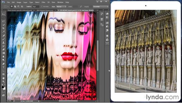 Previewing your designs on mobile devices: Photoshop: 2015 Creative Cloud Updates