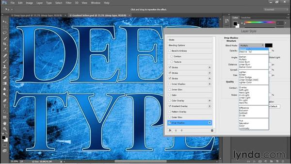 Doubling up layer effects: Photoshop: 2015 Creative Cloud Updates