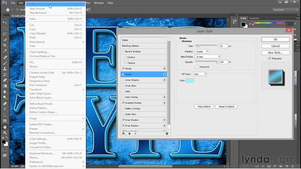New ways to manage layer effects: Photoshop: 2015 Creative Cloud Updates