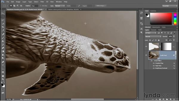 Combining different kinds of adjustments: Photoshop: 2015 Creative Cloud Updates