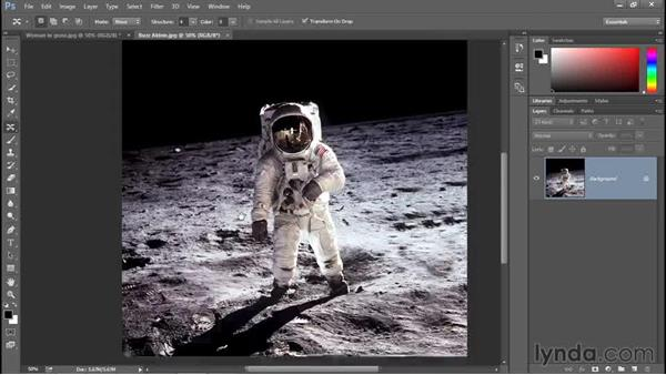 Content-aware move, scale, and rotate: Photoshop: 2015 Creative Cloud Updates