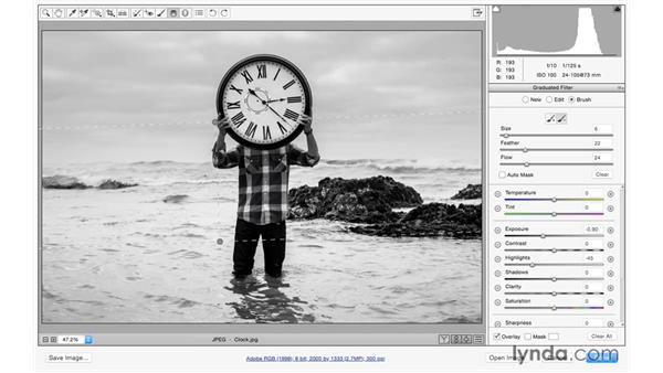 Brushing up radial and gradient adjustments: Photoshop for Photographers: 2015 Creative Cloud Updates