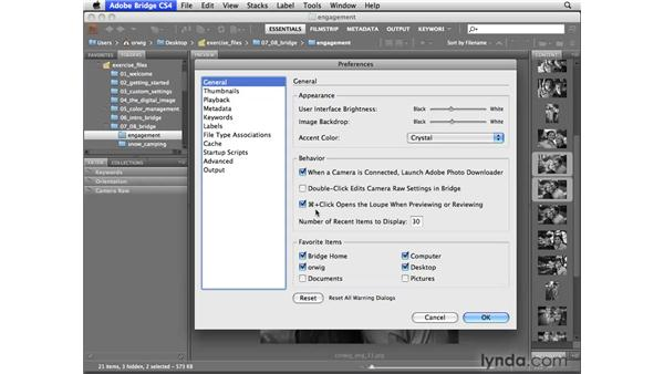 Previewing multiple files: Photoshop CS4 for Photographers