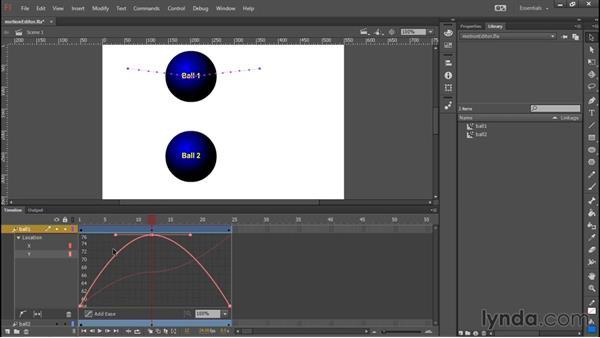 Motion editor enhancement: Flash Professional: 2015 Creative Cloud Updates