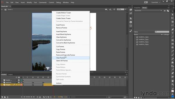 Paste and overwrite frames: Flash Professional: 2015 Creative Cloud Updates