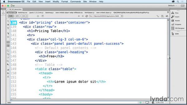 Ramping up coding efficiency: Dreamweaver: 2015 Creative Cloud Updates