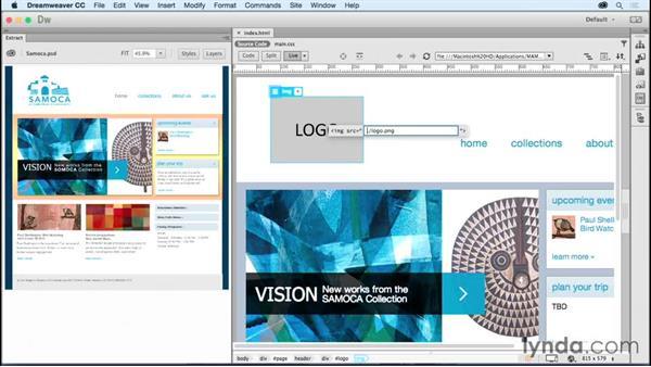 Extending the Extract panel: Dreamweaver: 2015 Creative Cloud Updates